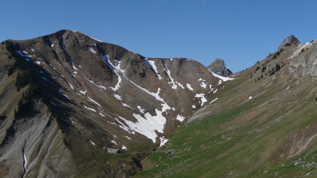 Drei Gipfel die ich eine Woche vorher im Regen besuchte.....