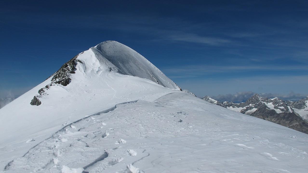 Breithorn - der Gipfel liegt schon hinter uns....