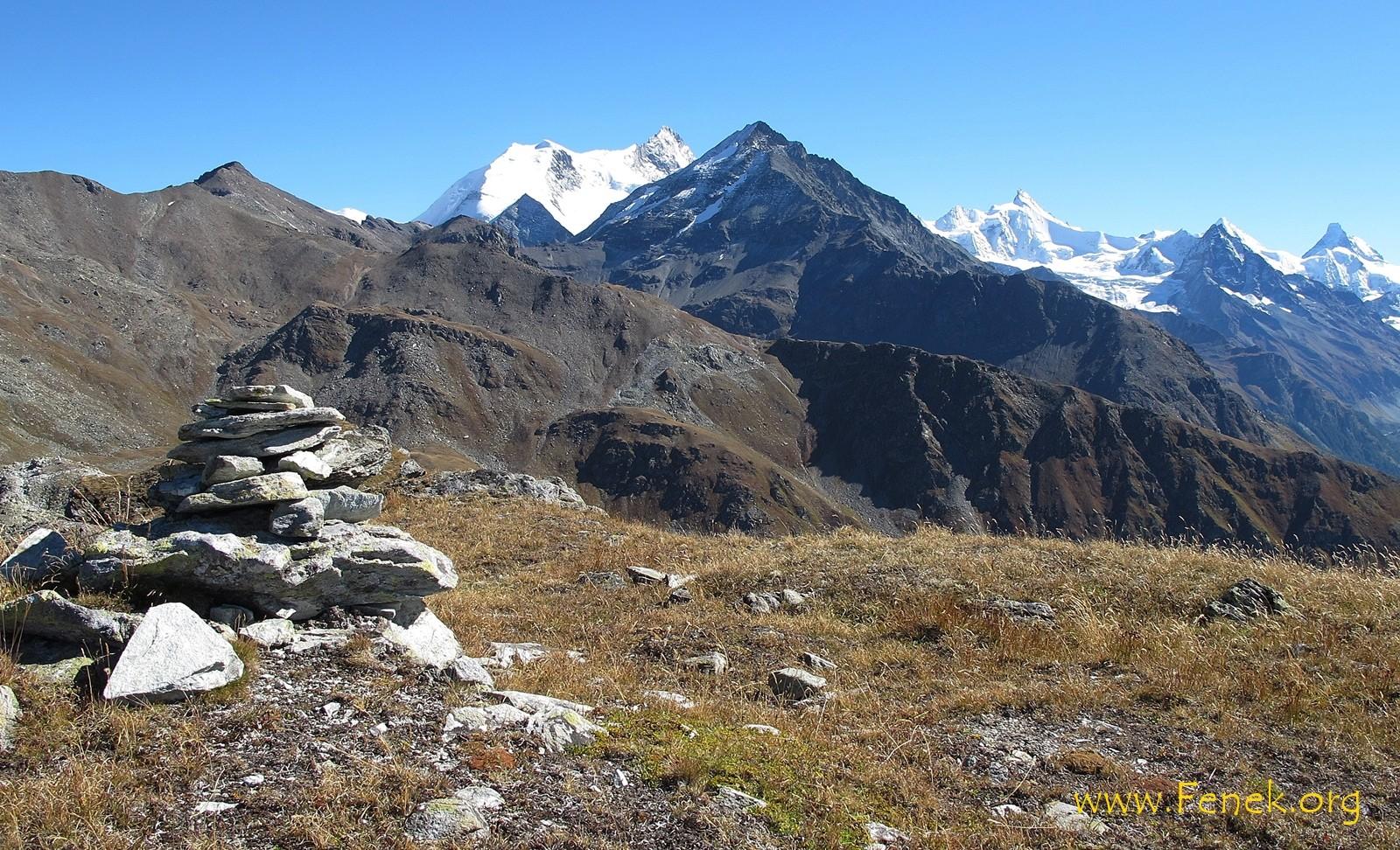 bekannte Walliser 4'000er. Kennst du das Matterhorn?