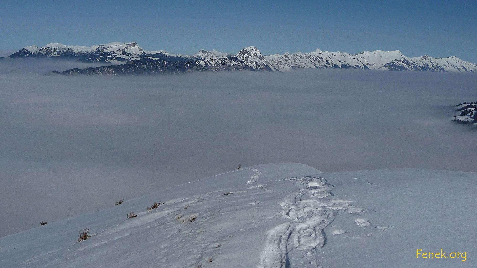 unter mir der Nebel(Alltag)