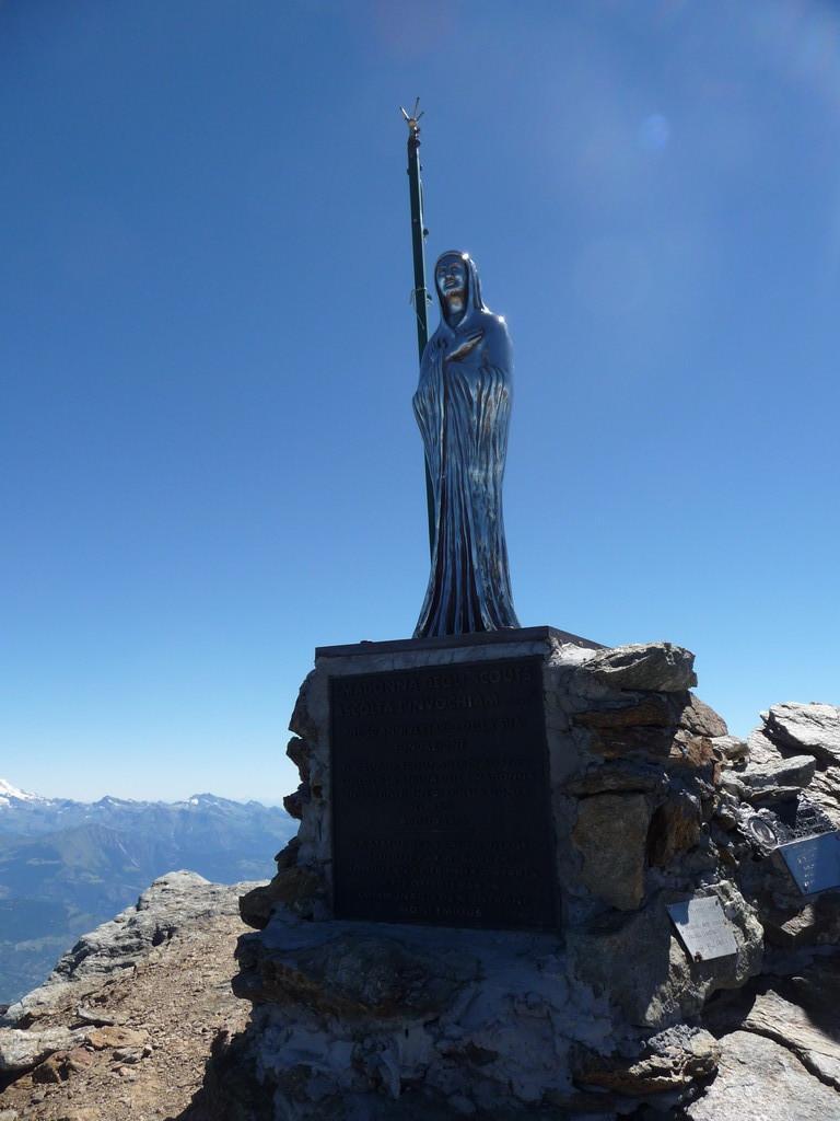 die Madonna auf dem Monte Emilius