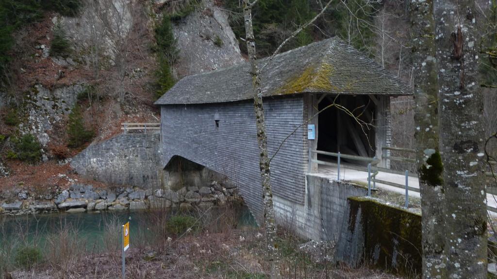 Brücke bei Gruyères