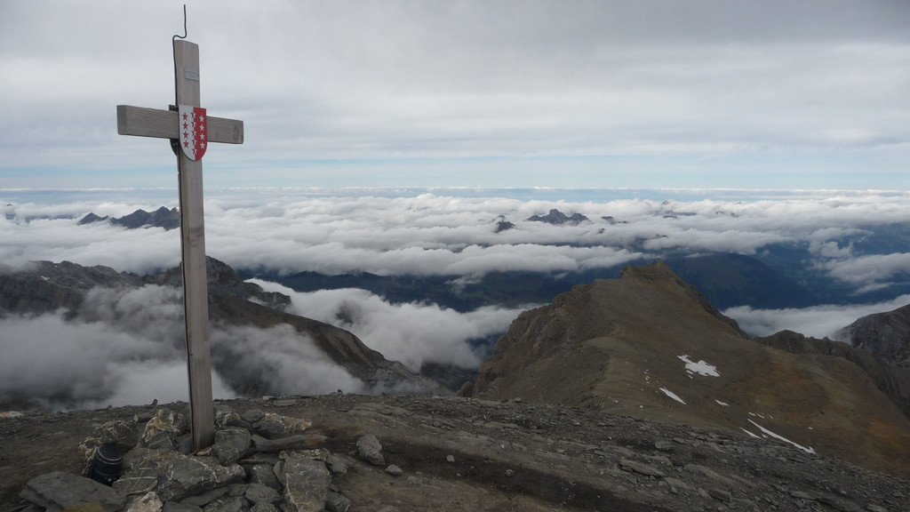 Gipfelpanorama vom Arpelistock