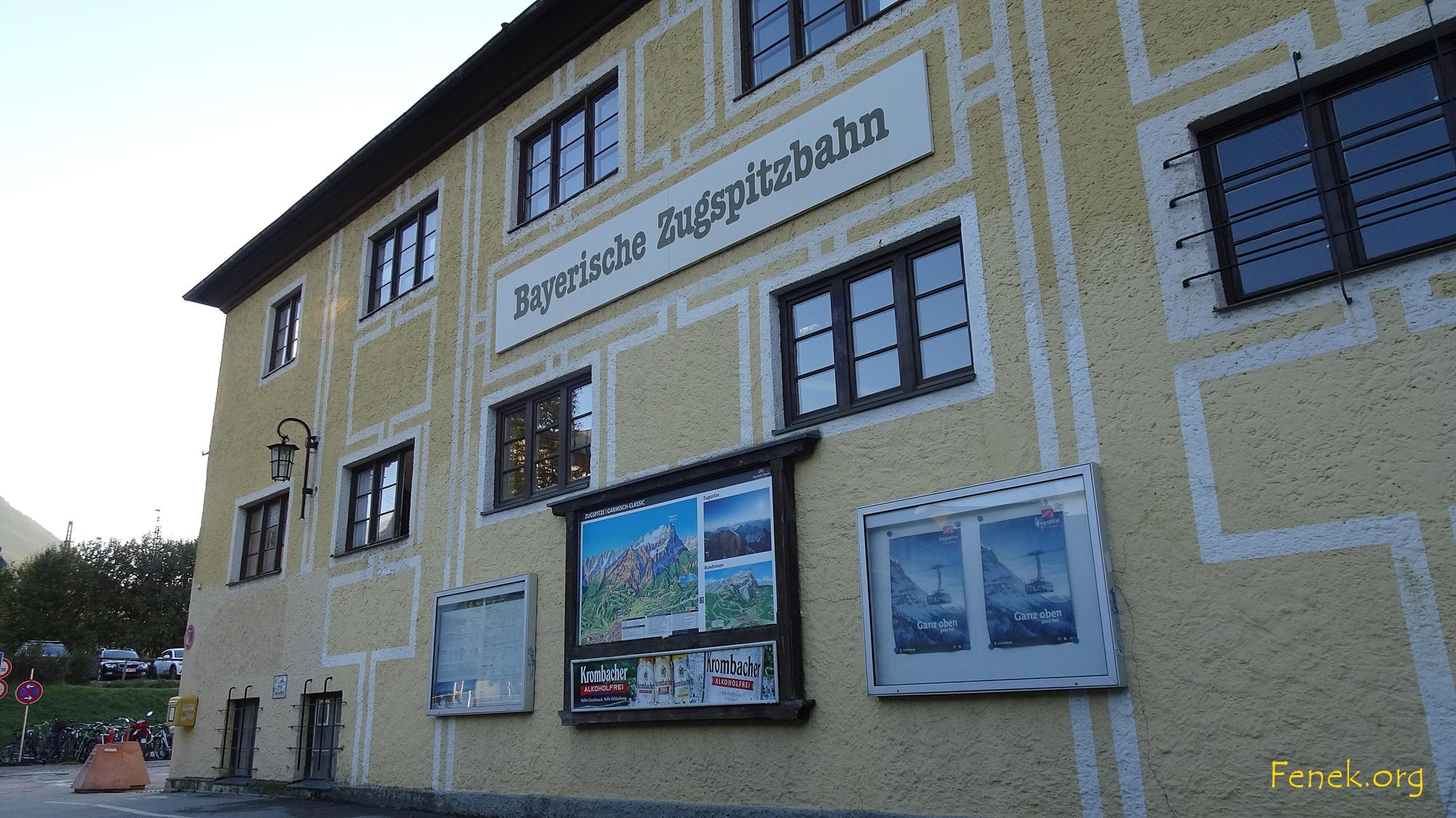Bahnhof der Bahn zum Eibsee