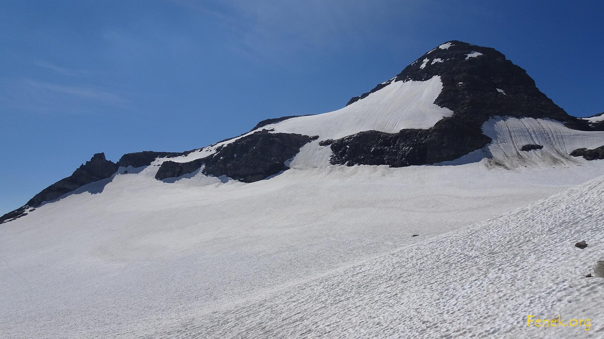 der Gipfel vom Ofenhorn