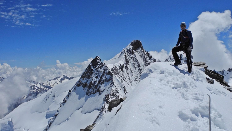 Hohbärghorn - 2. Gipfel heute
