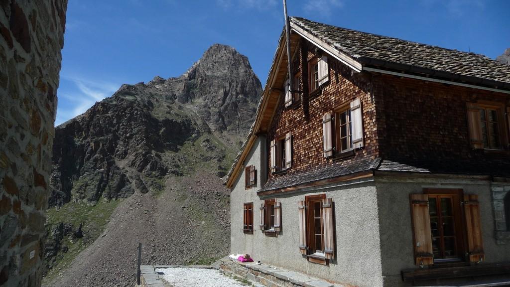 Jegihorn und Weissmieshütte
