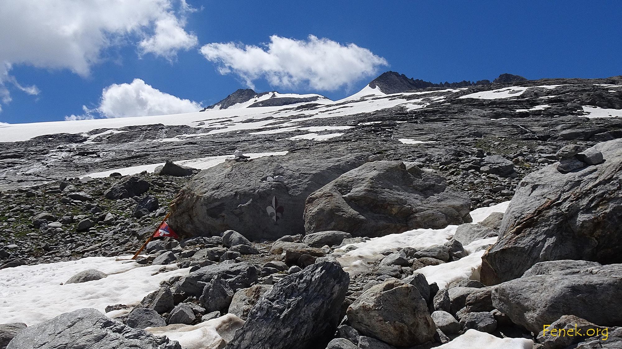 der Gletscher liegt hinter uns...