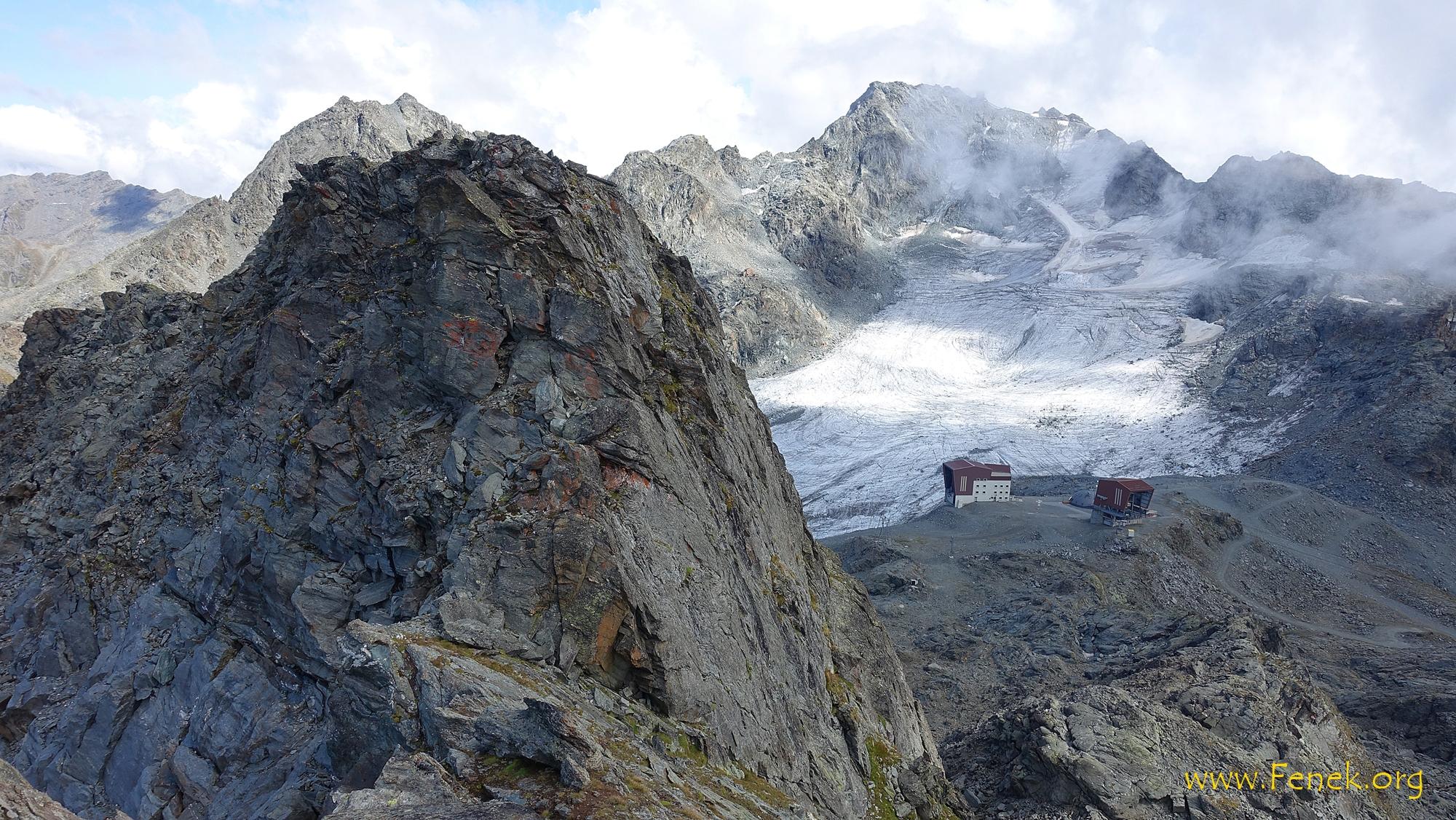 der Gipfelblock Pointe de Cion