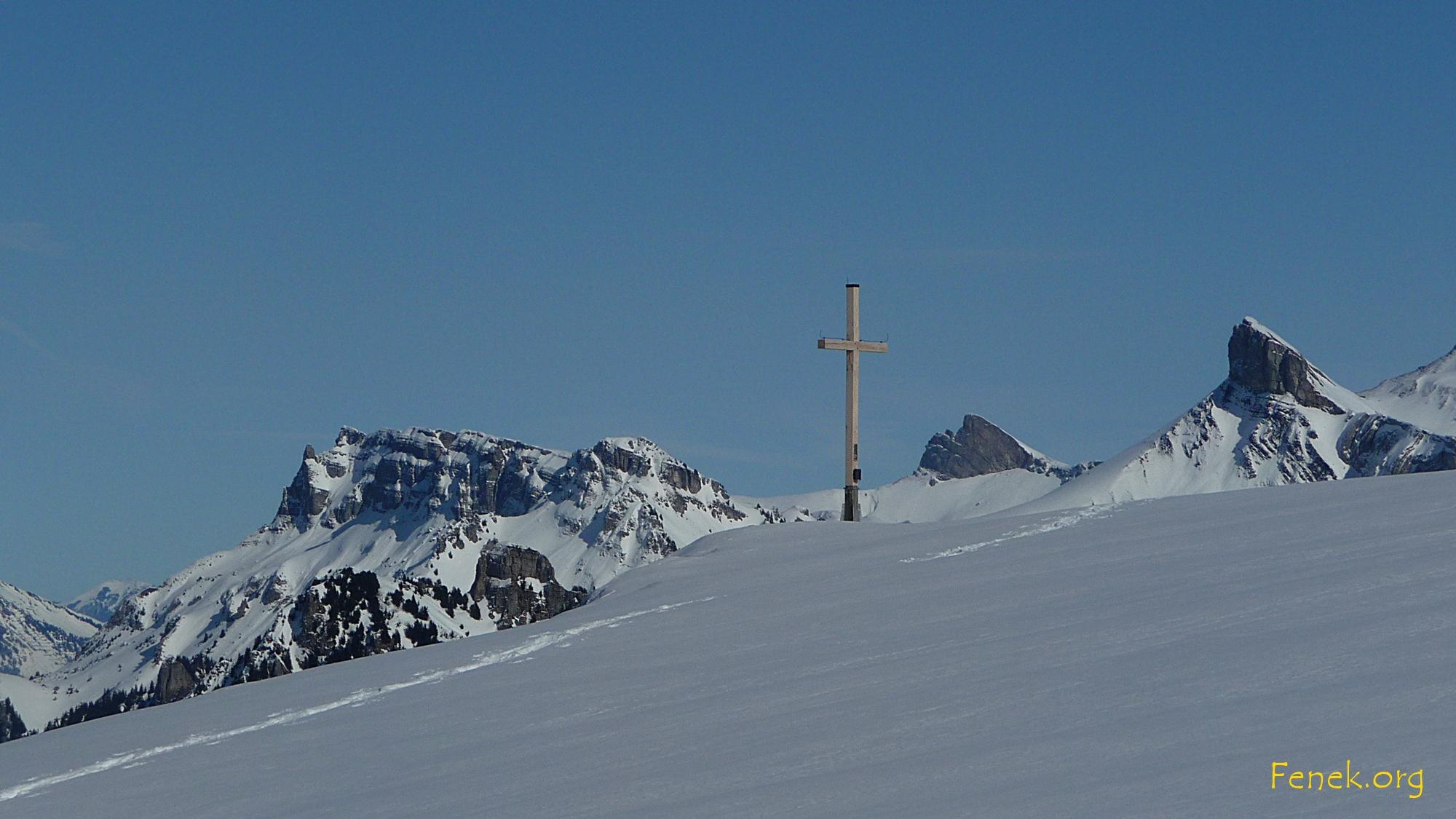 ein schönes Gipfelkreuz