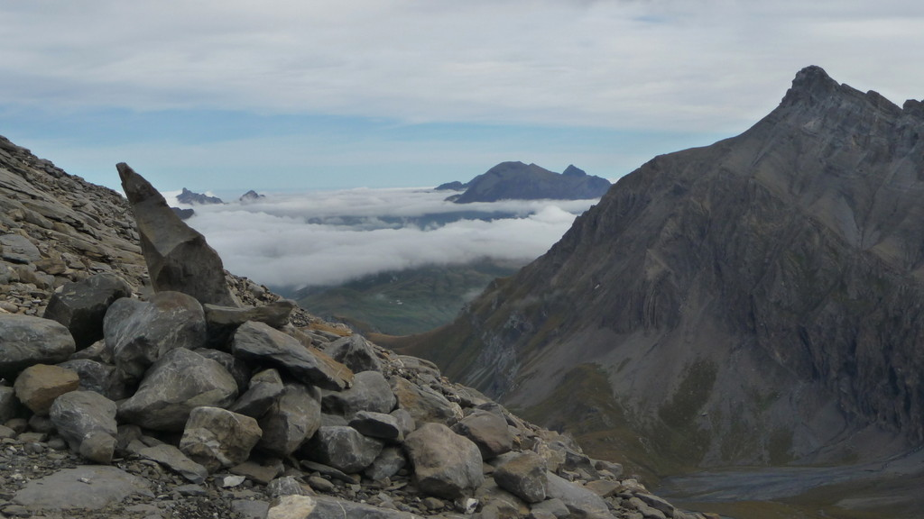 Nebelmeer über dem Berner Oberland
