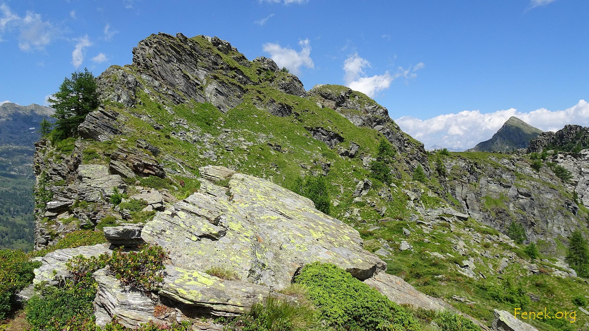 Gipfel Kleinhorn