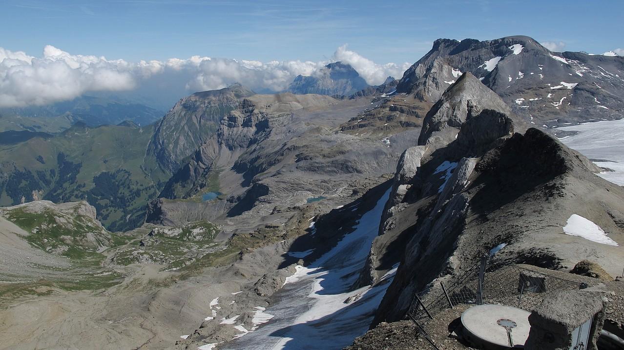 Fluehseeli und Gletscherhorn von der Seite....
