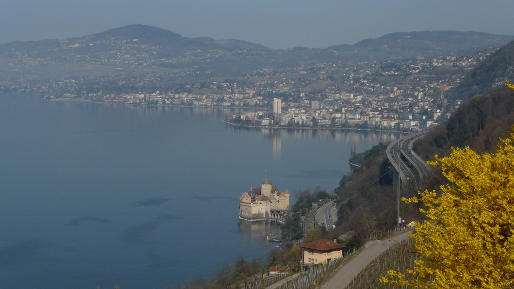 Chillon und Montreux