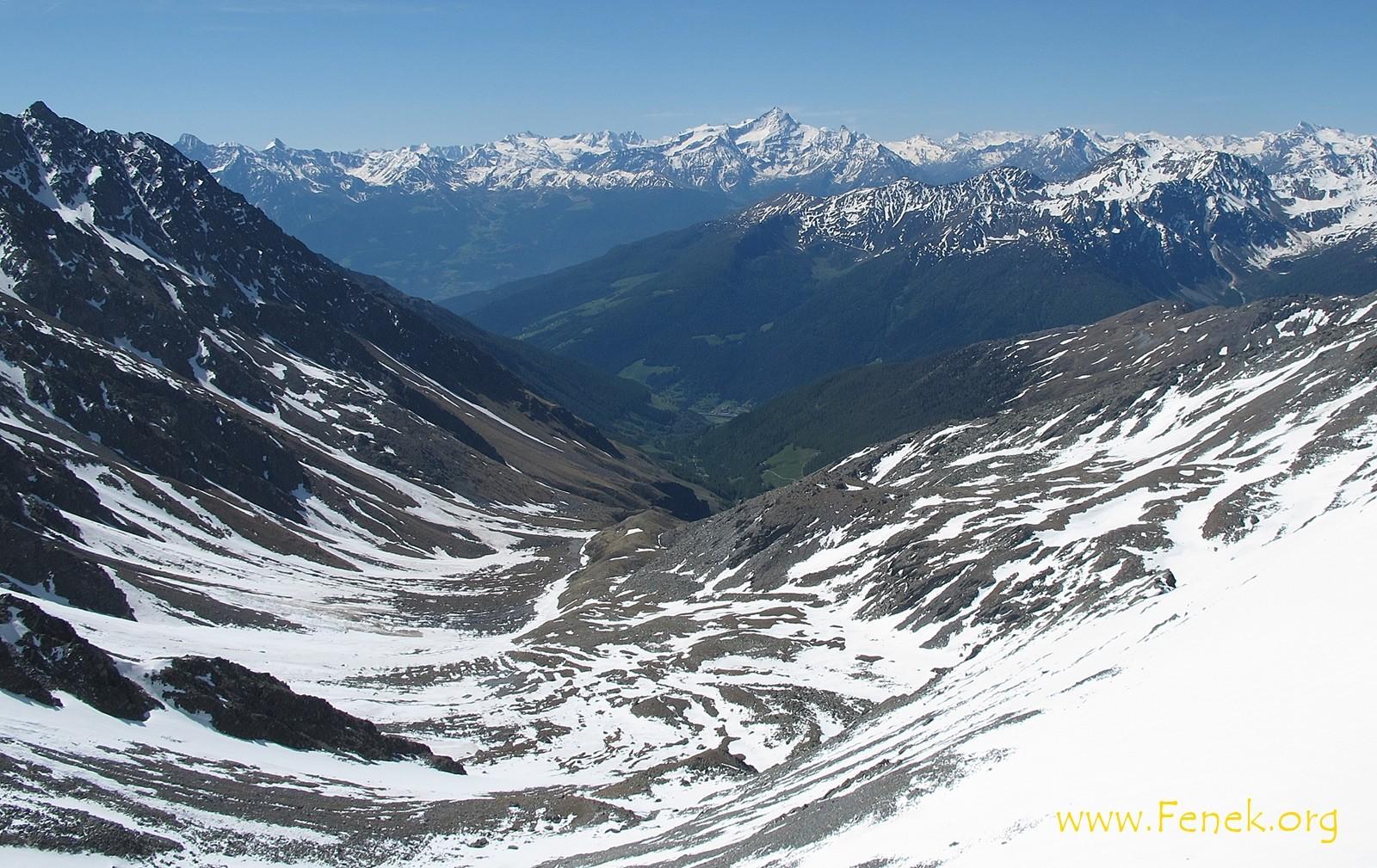 ein Blick ins warme Aostatal....