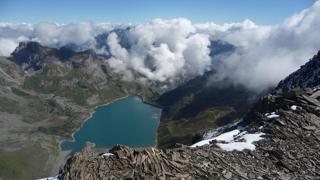 ein Blick zum Lac de Salanfe