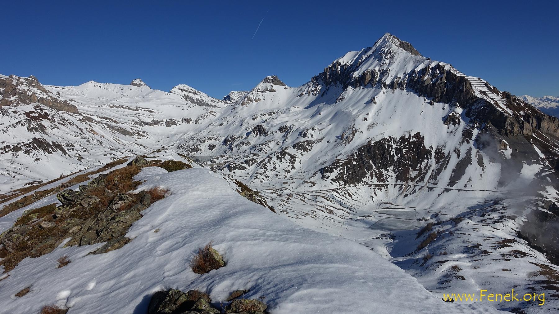 Grand Chavalard - ein stolzer und schöner Gipfel