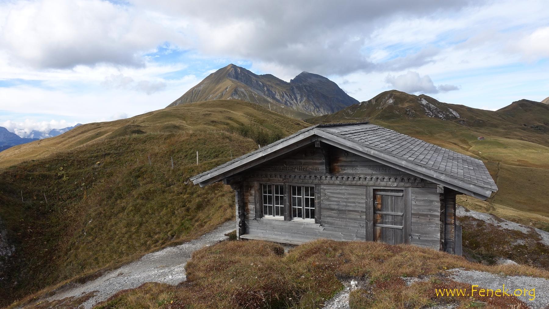 Schutzhütte in der Nähe von Stübleni