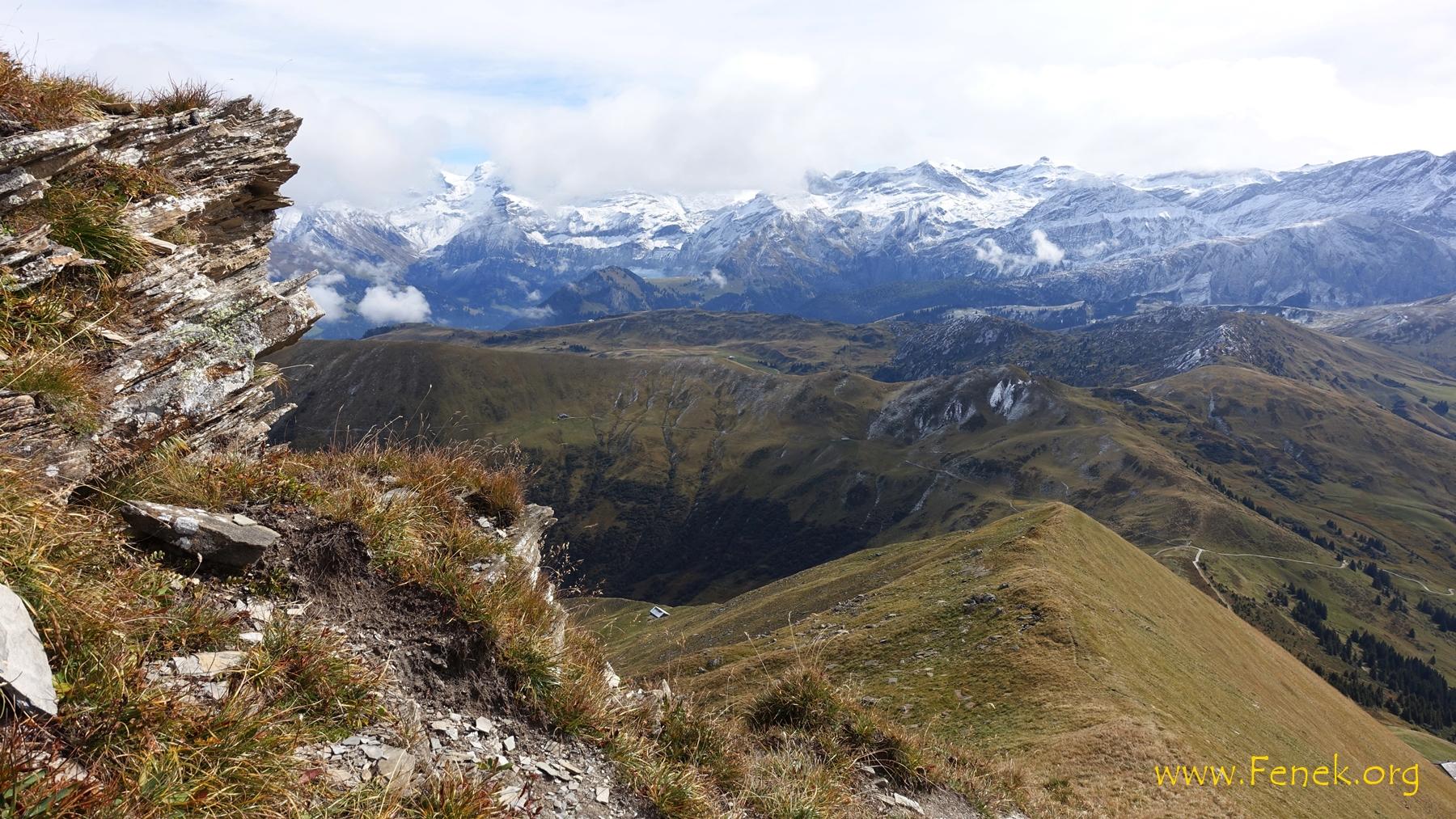 Abstieg über den Südostgrat