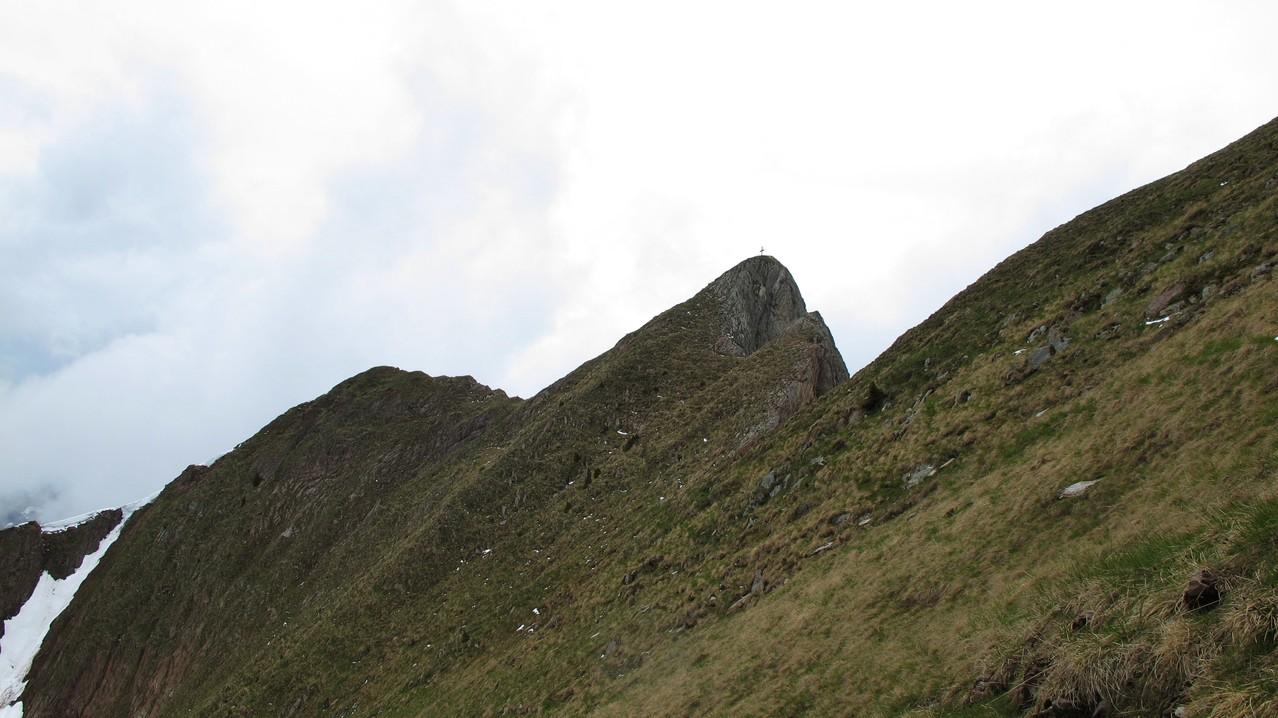 Eines der beiden Gipfelkreuze