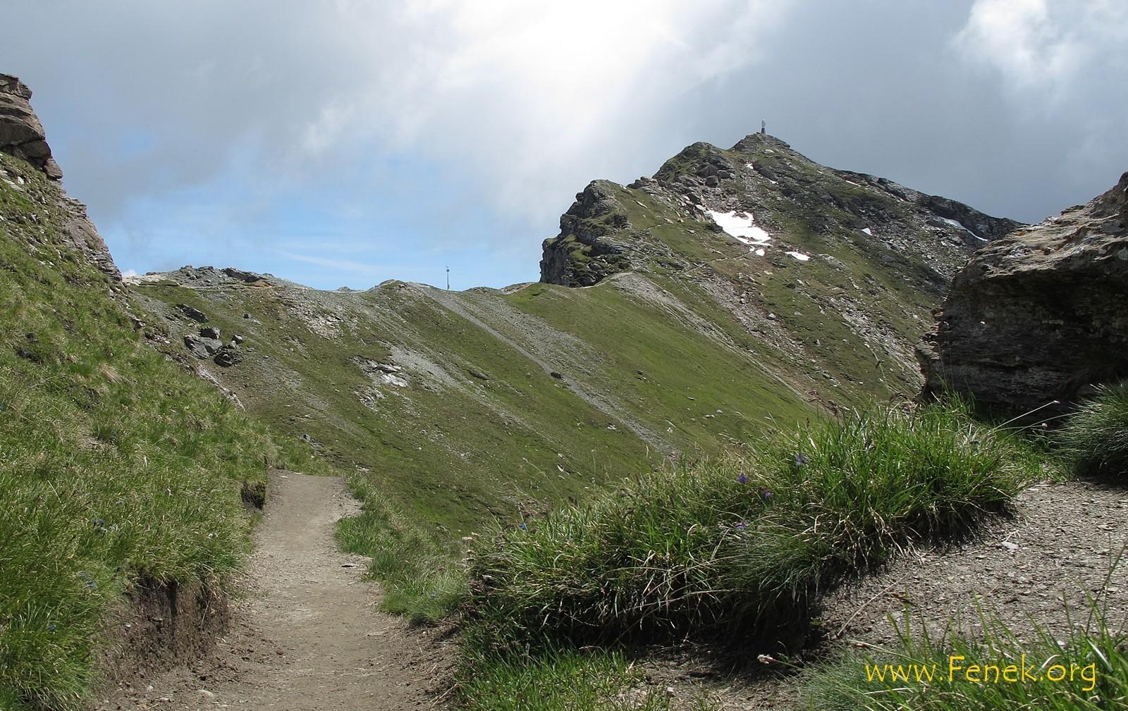 Mont Zerbion vor mir....