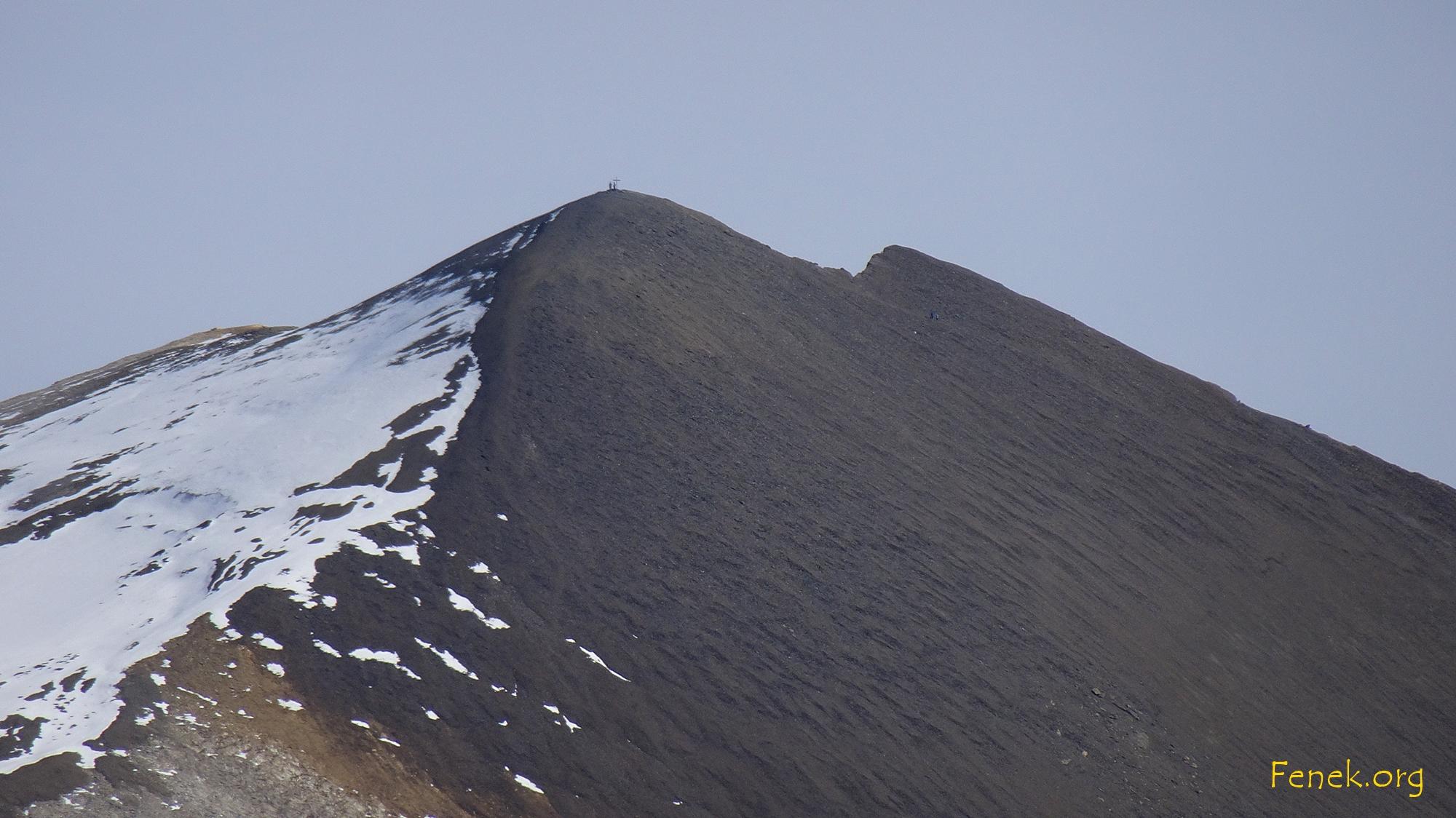 Barrhorn - höchster Wanderdreitausender der Schweiz