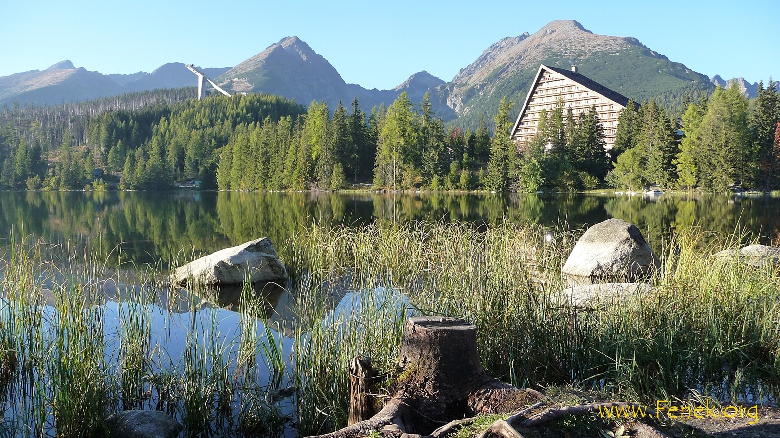 schöner See in Strpske Pleso