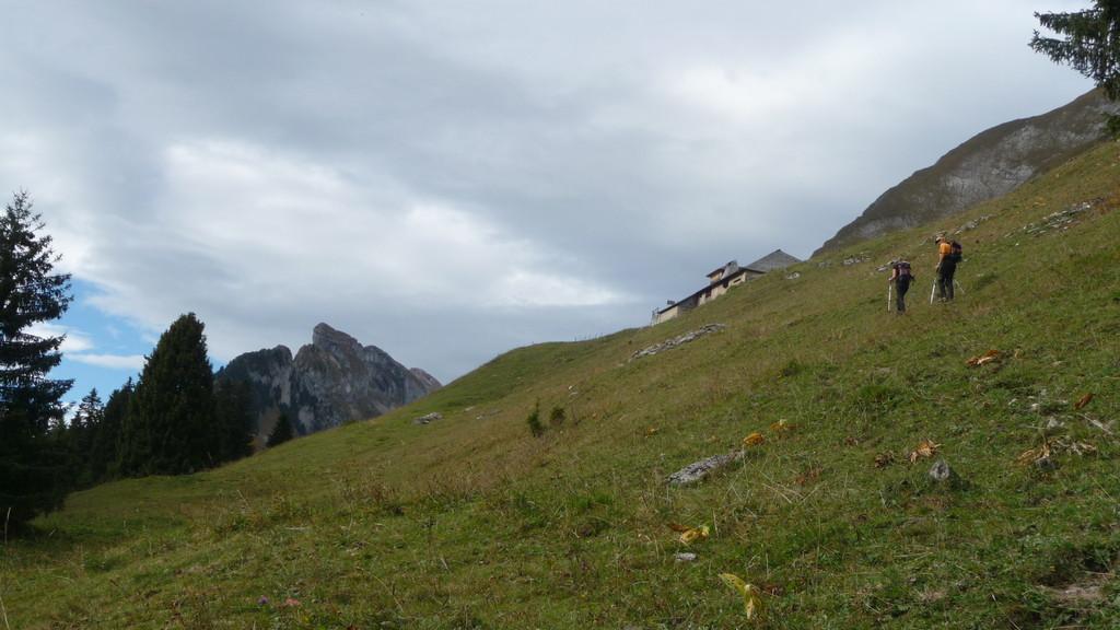 oberhalb Gros Mont
