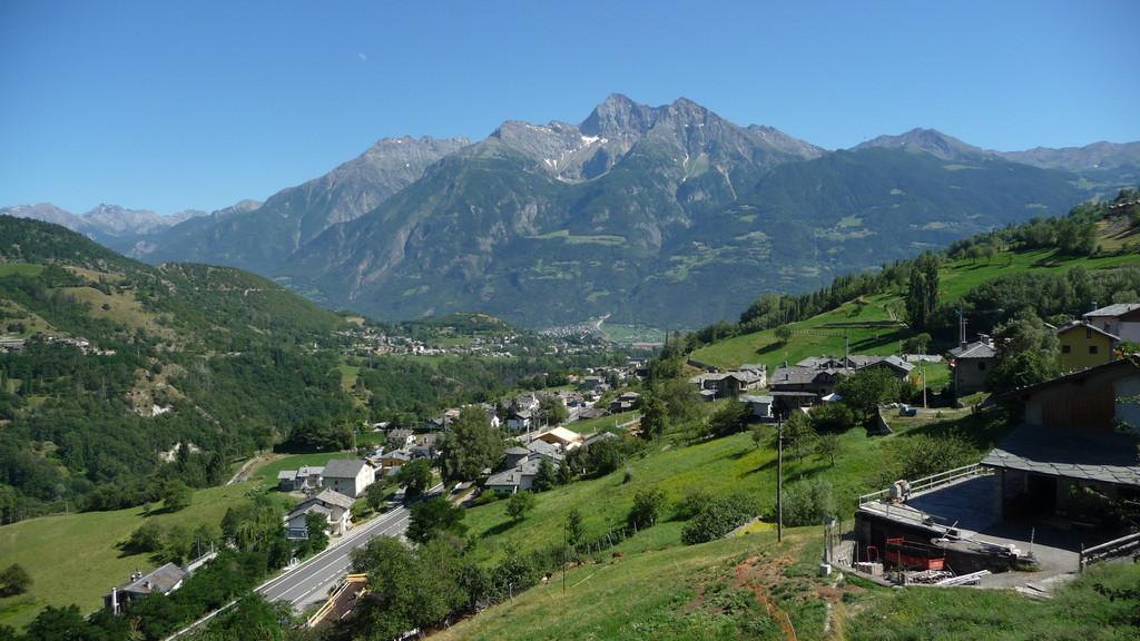 Monte Emilius und Aosta