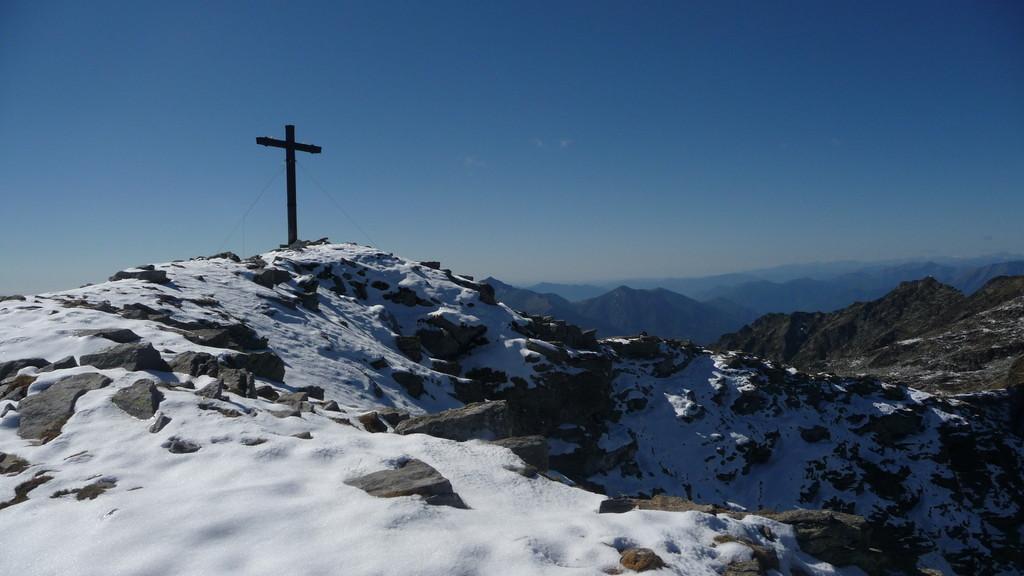 Gipfelkreuz Gaggio
