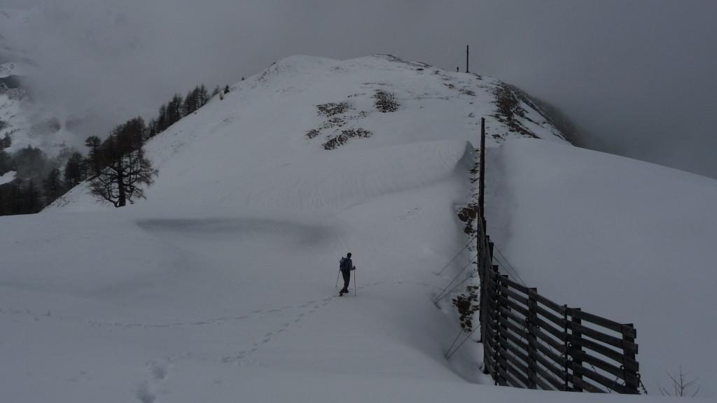 der Gipfel der La Seya