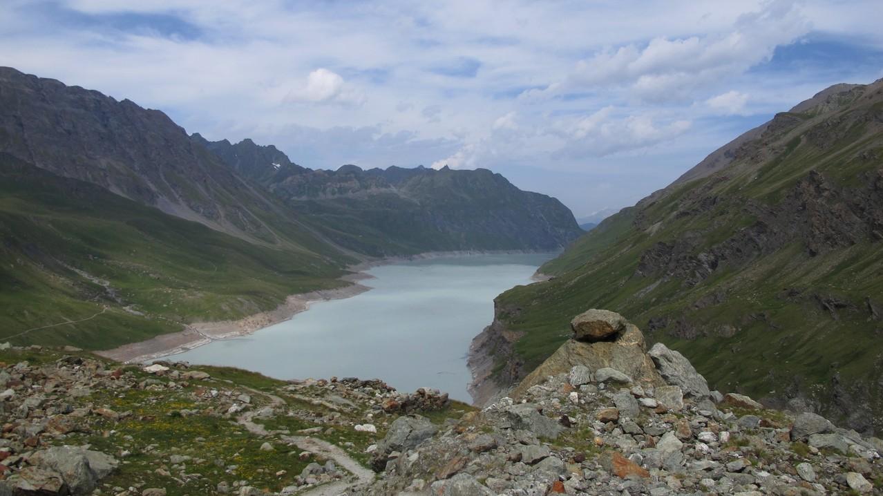 Der Stausee Lac des Dix