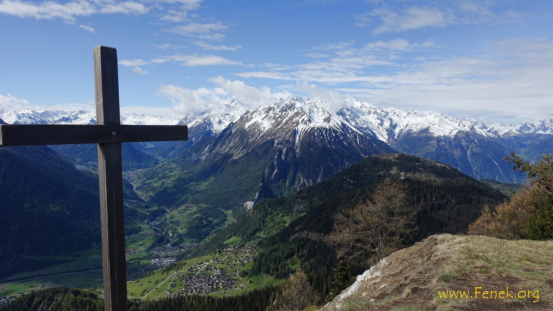 Aussicht Richtung Mont Blanc
