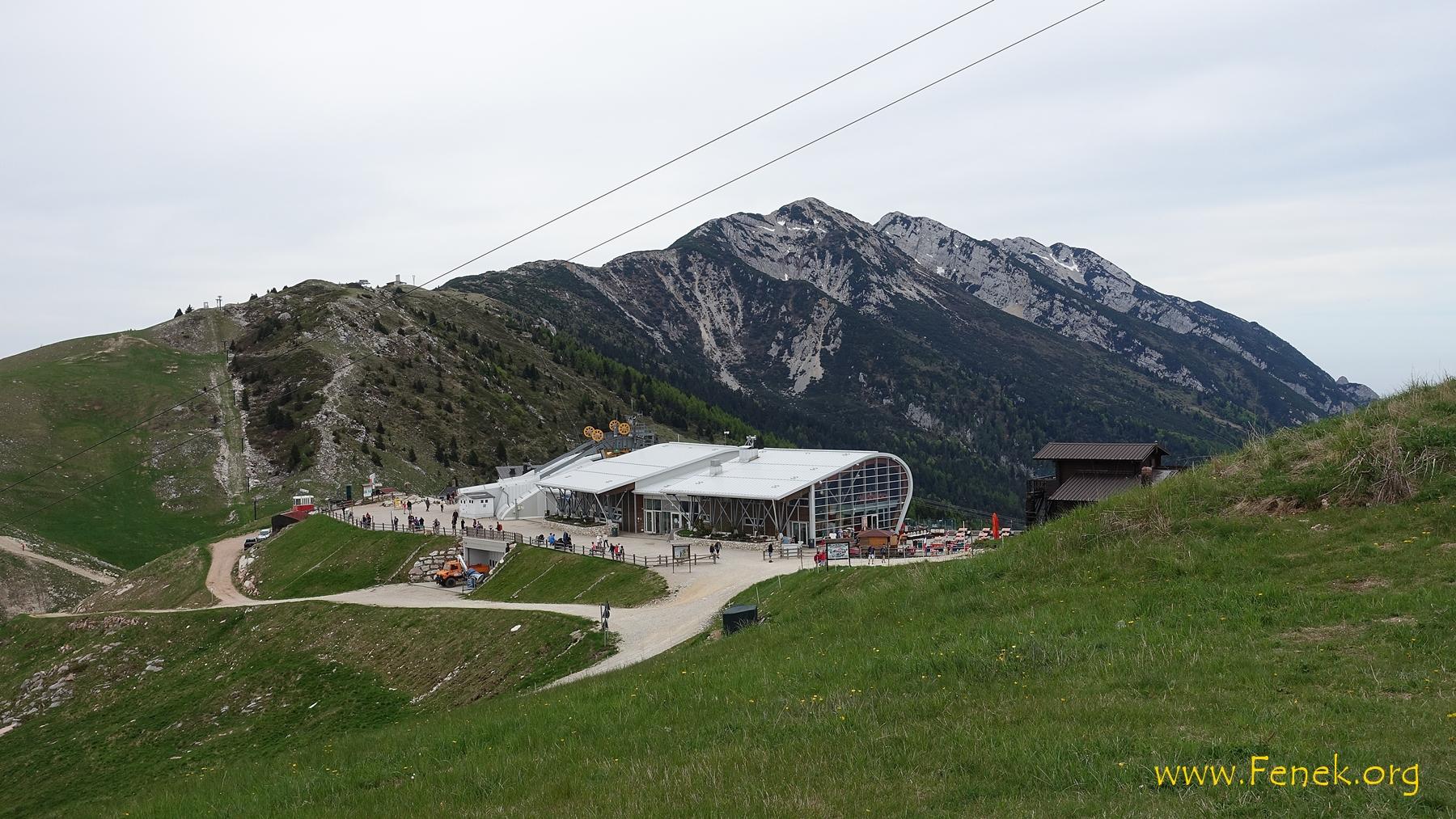 Bergstation - Start zu den Gipfeln im Hintergrund