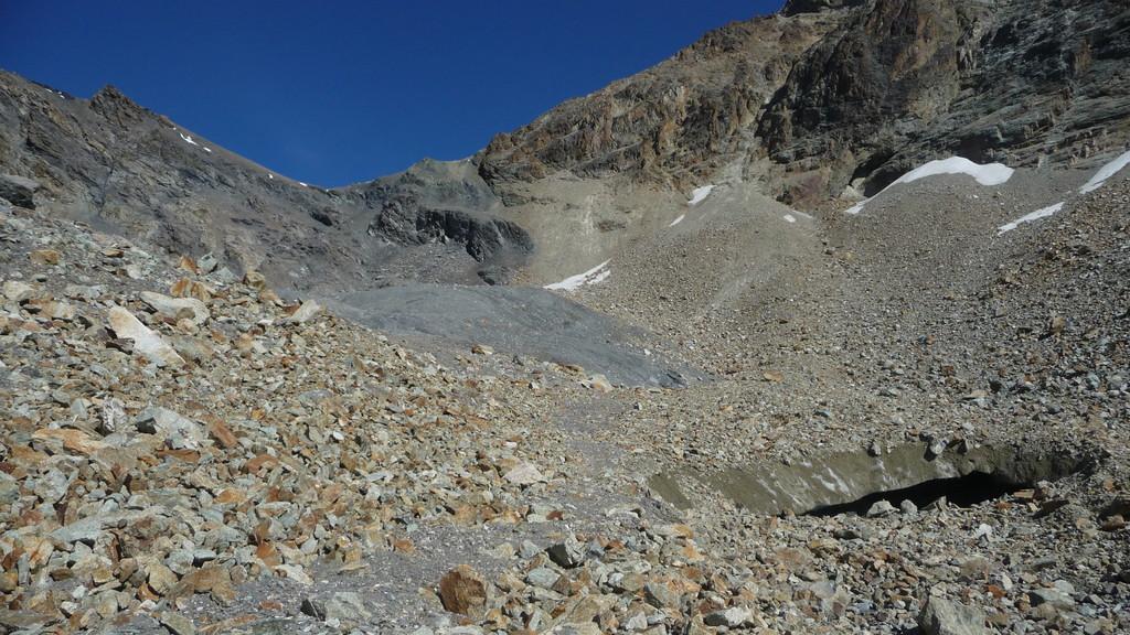 der Col du Mont Rouge - es ist leichter als es aussieht