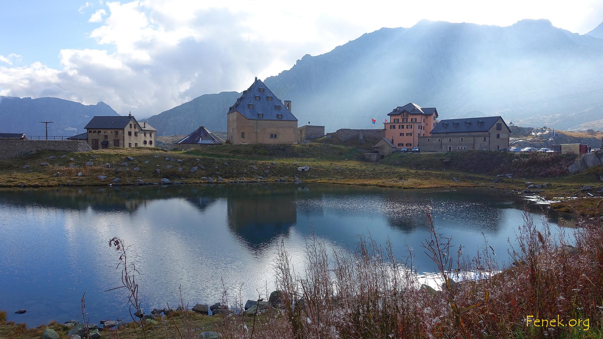 zurück beim Gotthardpass