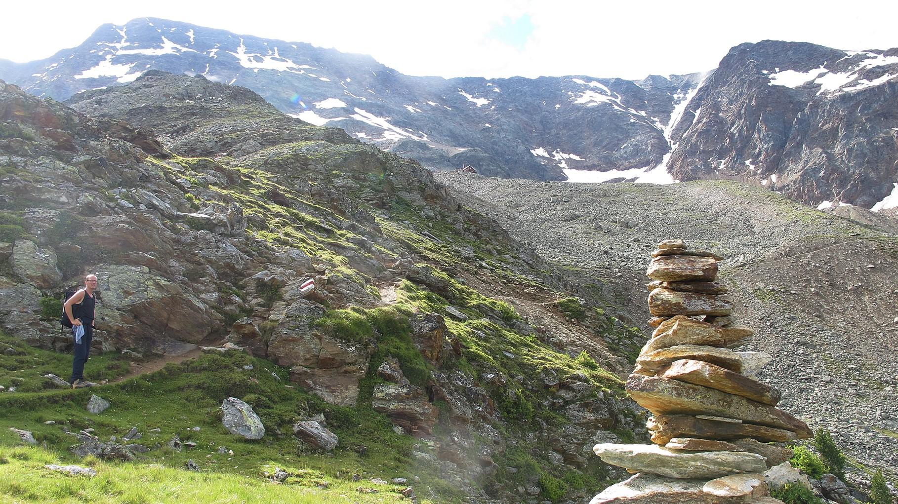 Beitschhornhütte und Schafbärg