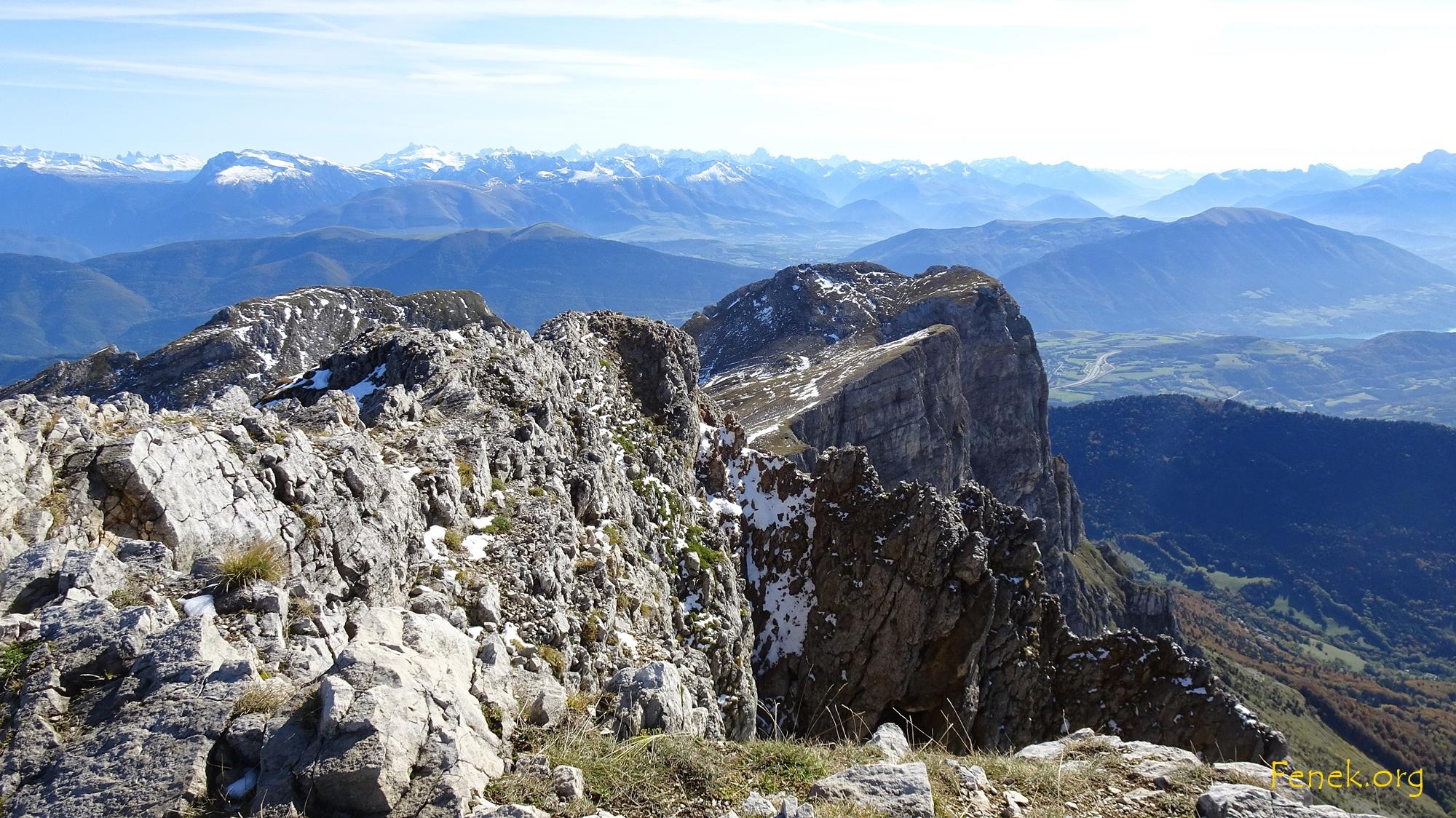 Soeurs Agatha und Sophie - die Namen beider Gipfelchen