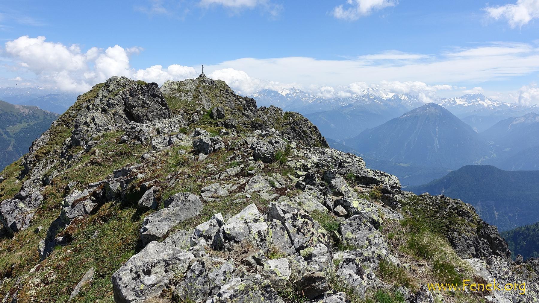 Gipfel in Griffnähe