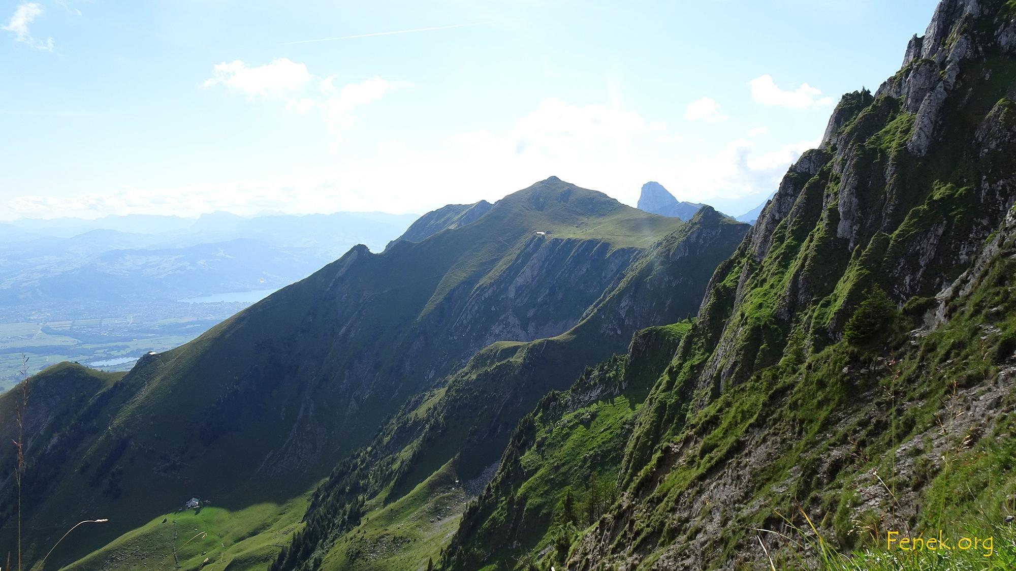 Hohmad und zwei Alphütten die ich im Abstieg passierte