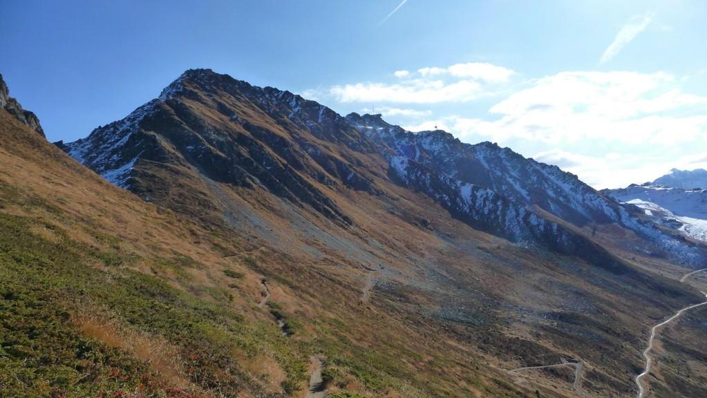 Mont Rogneux vor mir