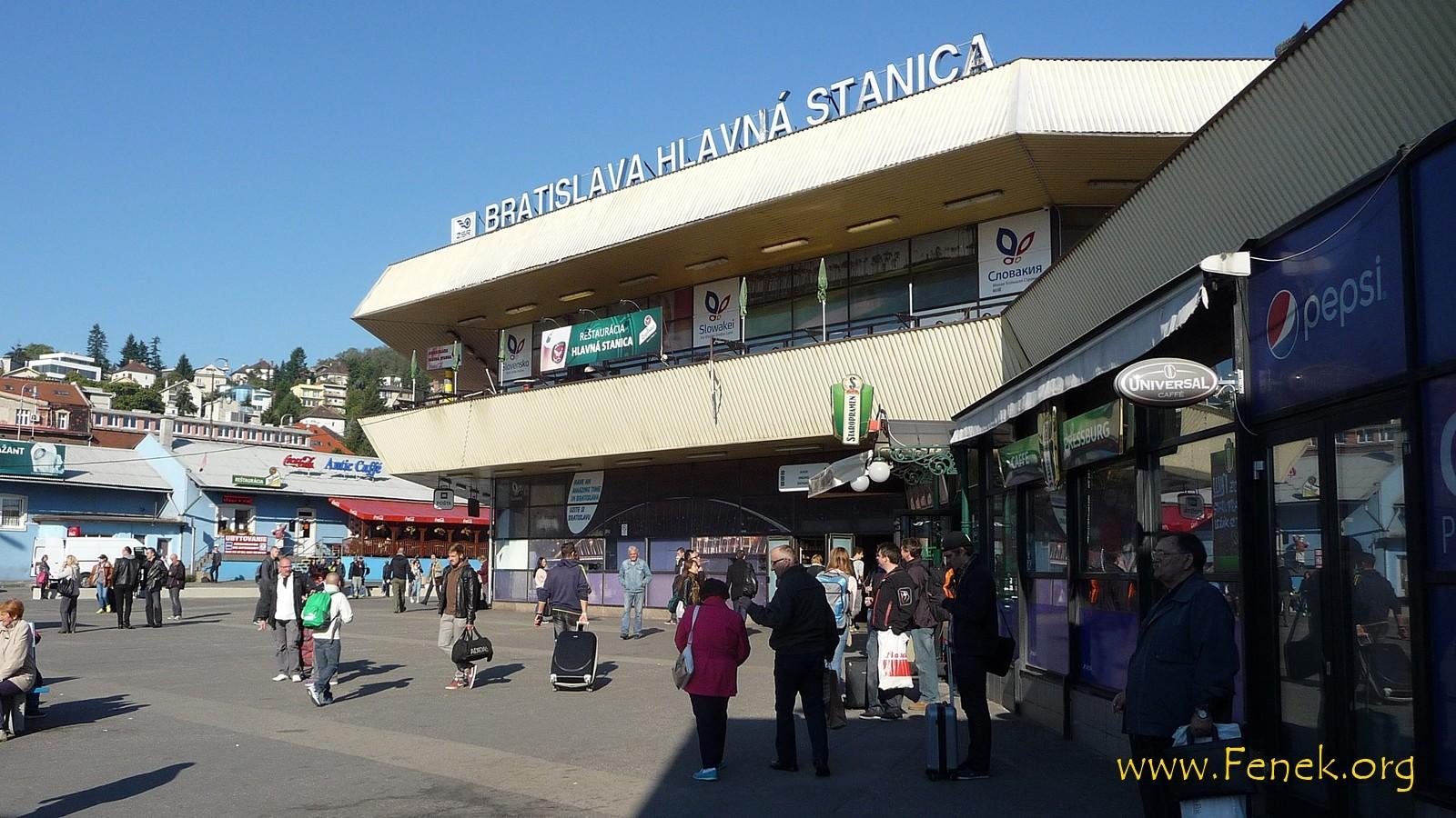 kurzer Stop in Bratislava