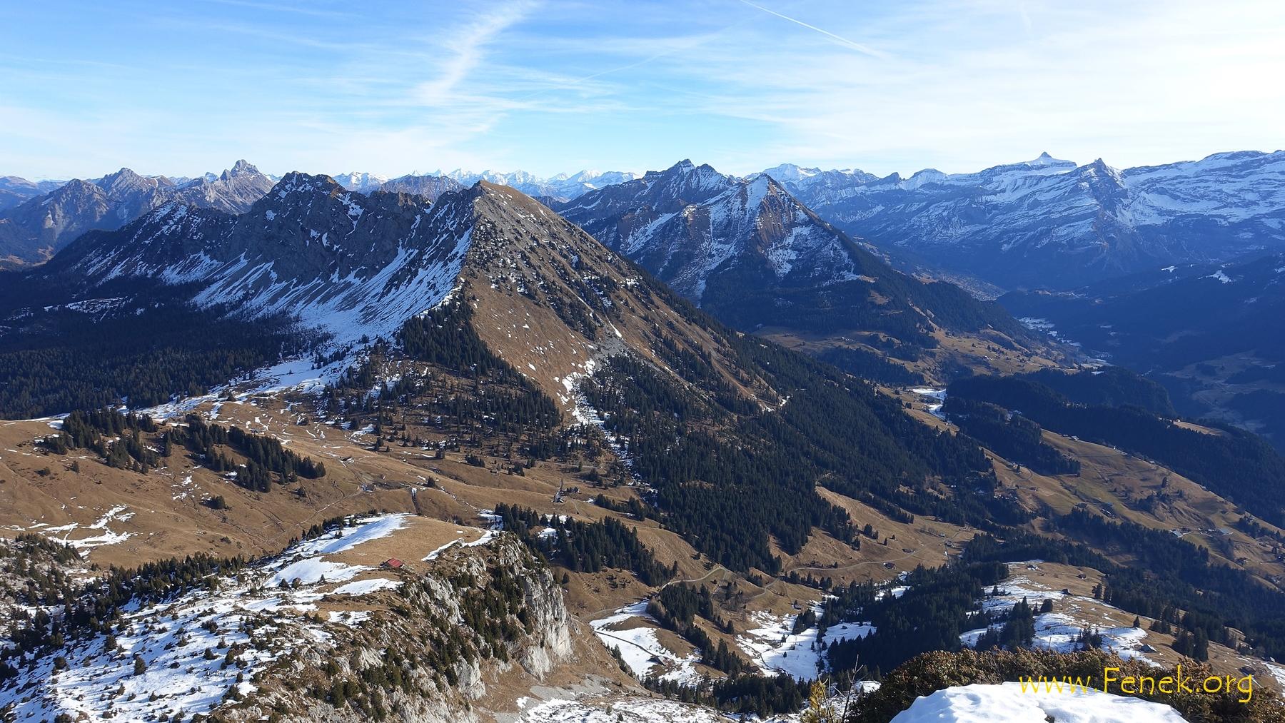 Aussicht zum Mont d'Or