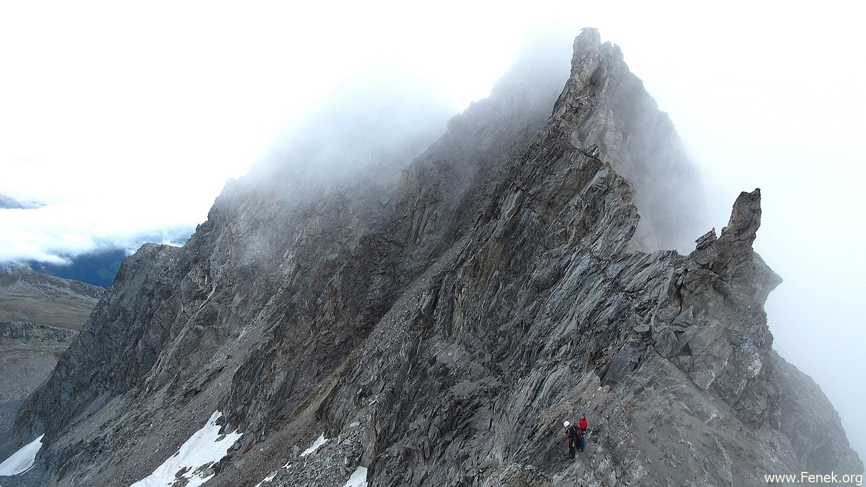 auf dem Col de la Gouille - Rückblick