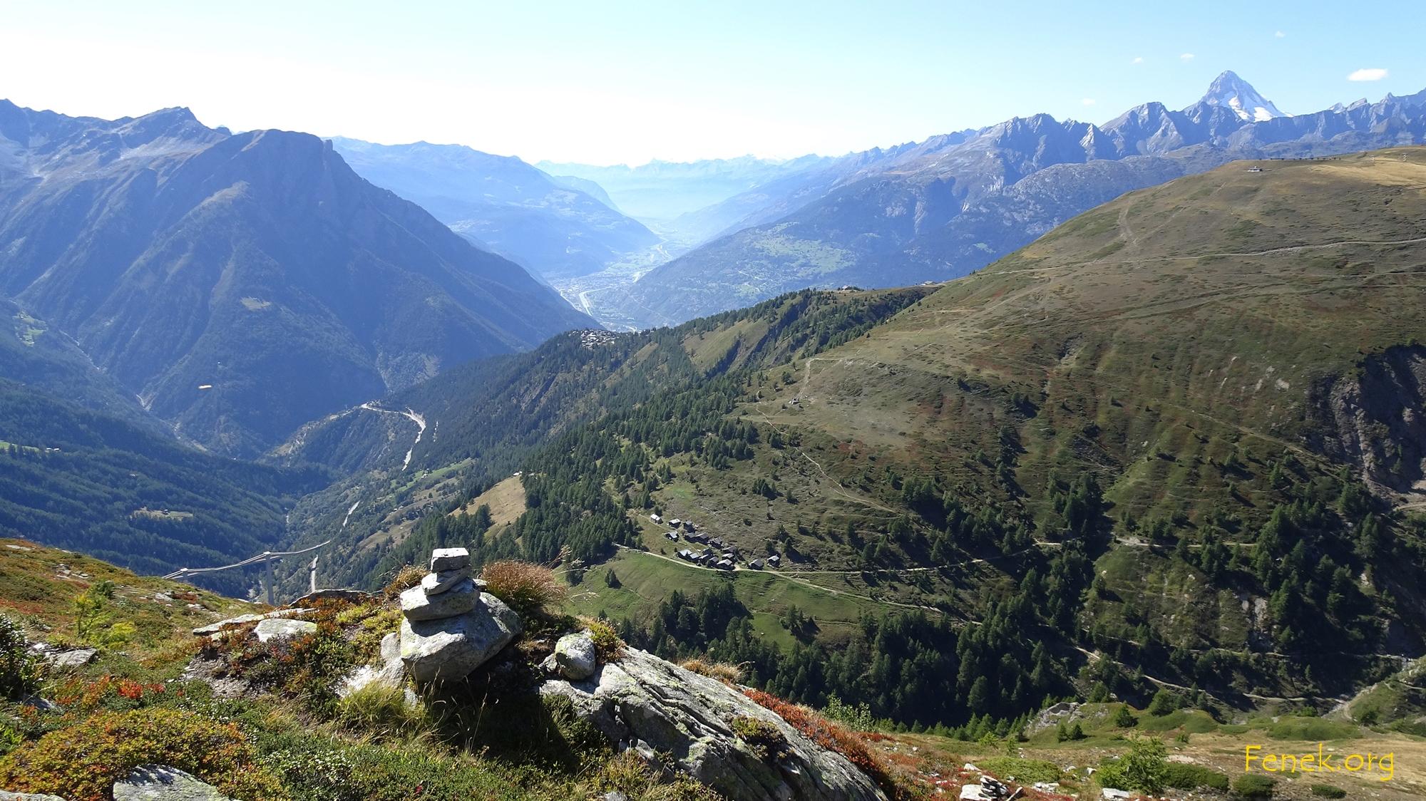 Stafel und Rosswald - es ist noch sehr weit......