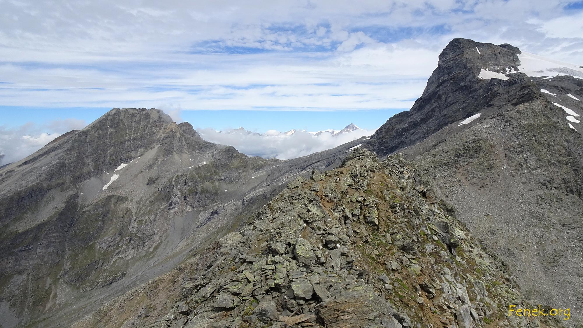 Hübschhorn und Breithorn