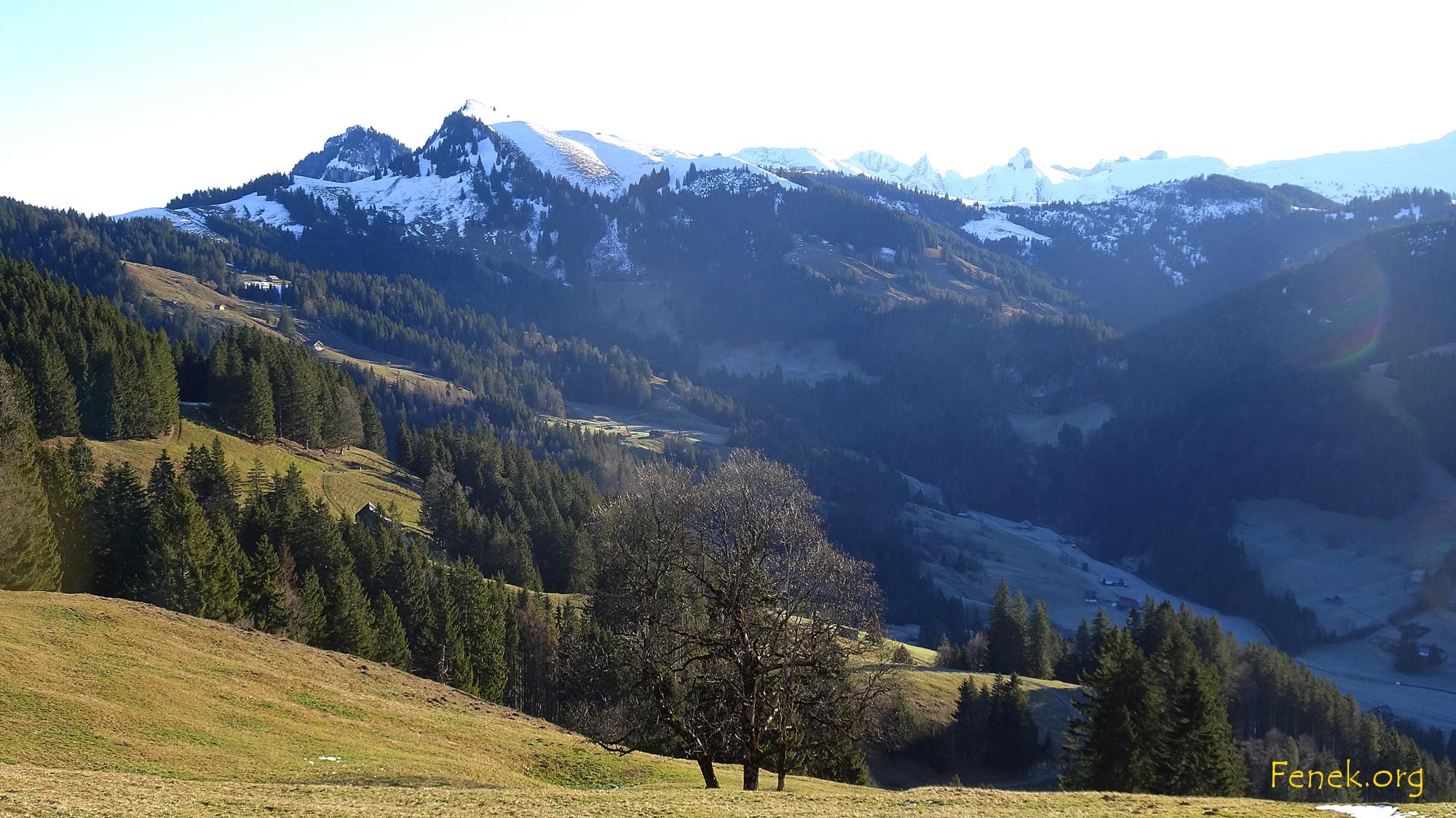 Aussicht Richtung Aubrig