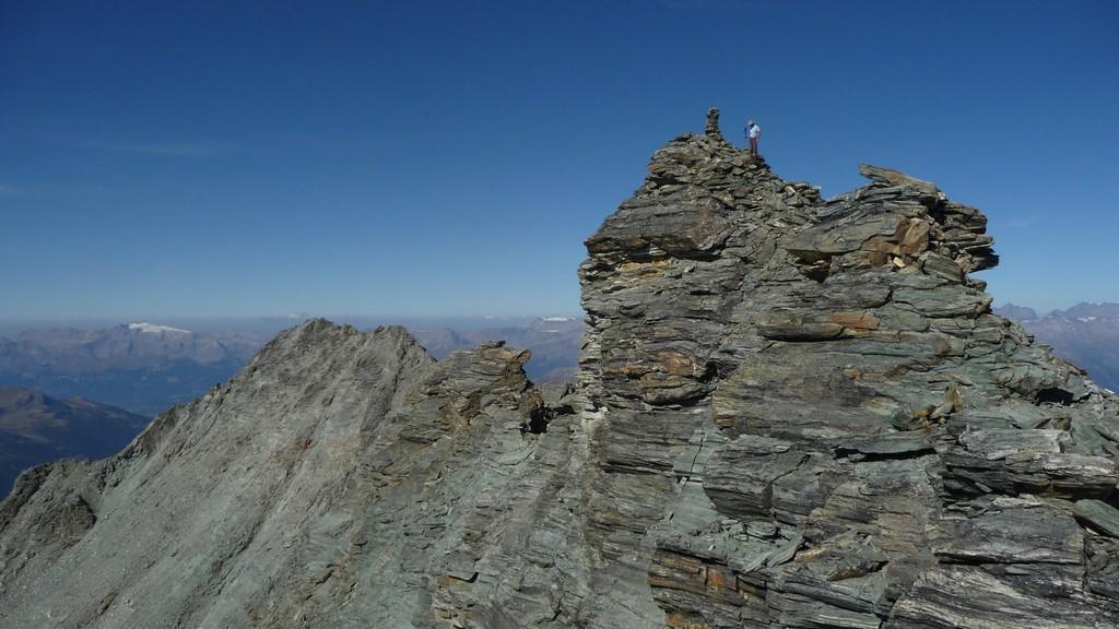 Omega3 auf dem Gipfel Les Diablons