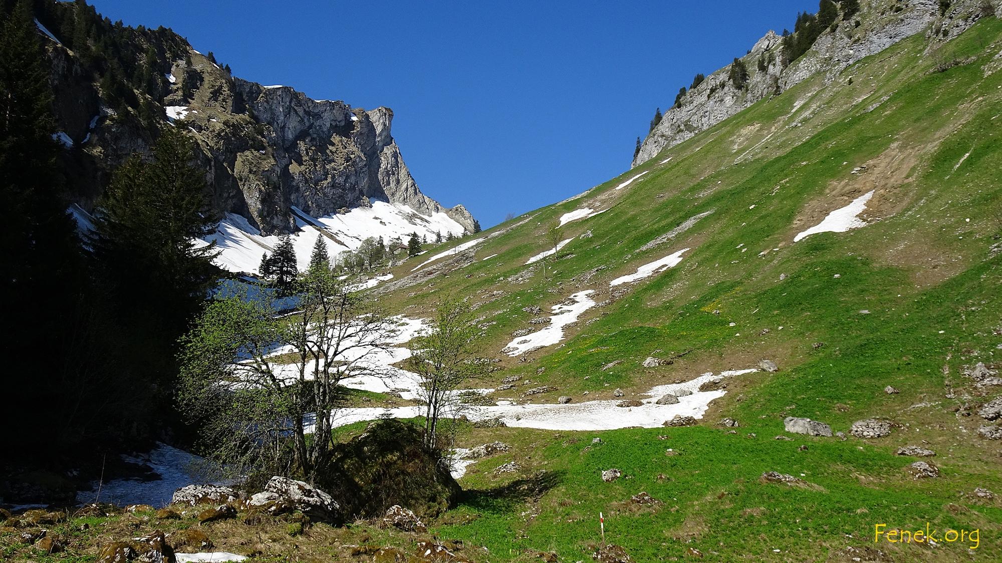 Richtung Col de Bonaudon