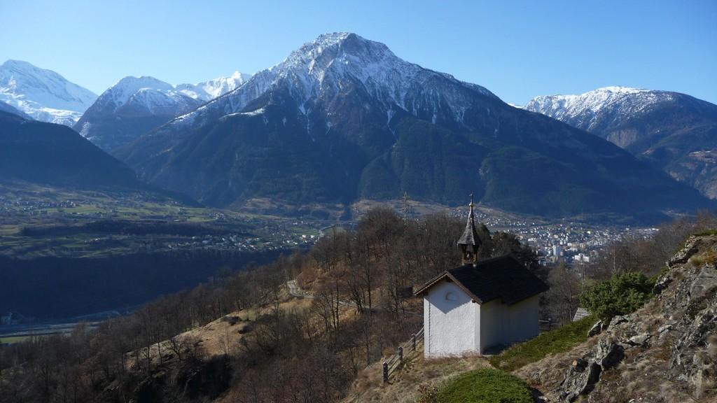 Horu Kapelle und Simplon Gebiet